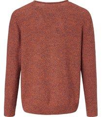 trui van 100% katoen met ronde hals van louis sayn oranje