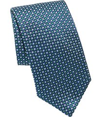 dot game print silk tie