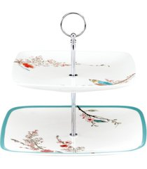 lenox simply fine chirp 2-tiered square server