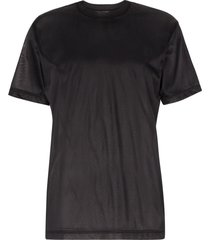 eytys smith nylon t-shirt - black