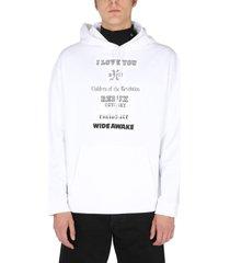 raf simons hoodie