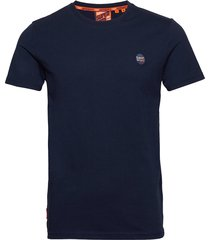 collective tee t-shirts short-sleeved blå superdry