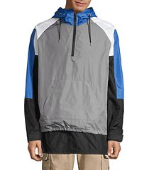 colorblock sail jacket