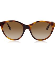 gucci designer sunglasses, gg0419s cat-eye acetate frame sunglasses