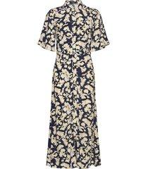 slrafina shirt dress ss knälång klänning multi/mönstrad soaked in luxury