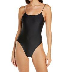 women's jade swim trophy one-piece swimsuit, size x-small - black