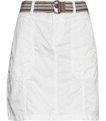 skirts woven kort kjol vit esprit casual
