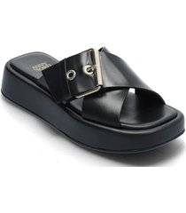 detox shoes summer shoes flat sandals svart anny nord