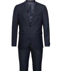 ink washable suit pak blauw matinique