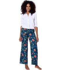 flower print palazzo pants