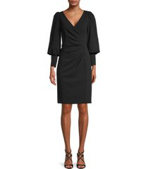 calvin klein women's mini sheath dress - black - size 2