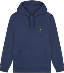lyle and scott ml416vtr lyle&scott pullover hoodie, z99 navy