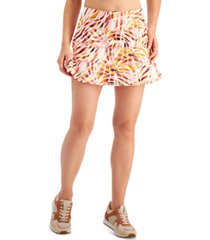 ideology performance printed tiered skort, created for macy's