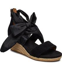 w.trina sandalette med klack espadrilles svart ugg