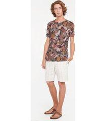 camiseta estampado selva