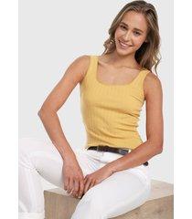 camiseta esqueleto amarillo active