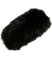 la fiorentina genuine fox fur headband