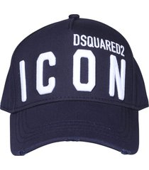 dsquared2 icon logo baseball cap