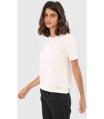 camiseta oh, boy! basic off-white - off white - feminino - algodã£o - dafiti