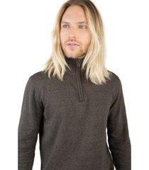 suéter zíper taco masculino