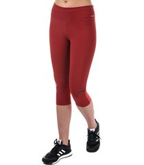 womens chill 3 quarter tights