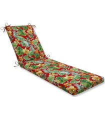 pillow perfect beachcrest poppy chaise lounge cushion