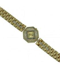 reloj dorado sasmon re-98013
