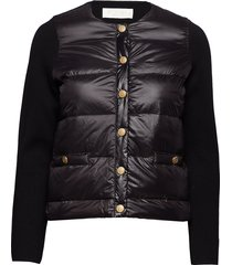 inella down jacket fodrad jacka svart busnel