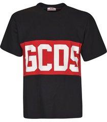 gcds mid logo print t-shirt