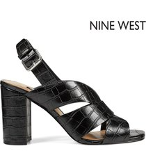 tacón para mujer nine west jordana- negro
