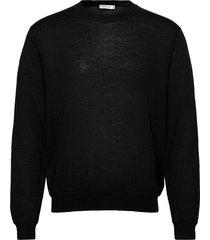 guss m gebreide trui met ronde kraag zwart tiger of sweden jeans