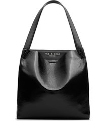 rag & bone passenger leather tote - black