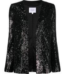 galvan sahara evening jacket - black