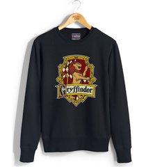 gryffindor #2 crest unisex crewneck sweatshirt / sweater black