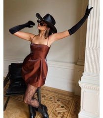 danielle bernstein strappy mini dress, created for macy's