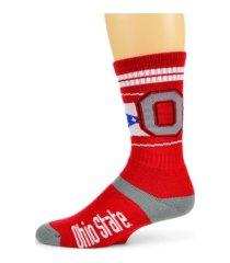 for bare feet ohio state buckeyes flag stripe socks