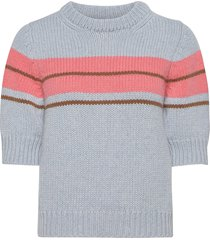 vivienne pullover t-shirts & tops knitted t-shirts/tops multi/patroon lovechild 1979