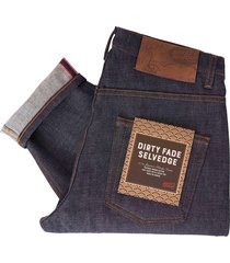 naked and famous indigo easy guy dirty fade selvedge jeans 101085306-ind