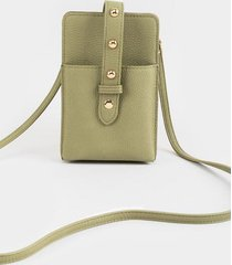 lola cellphone string wallet - sage