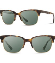 men's shwood 'newport' 52mm polarized sunglasses -