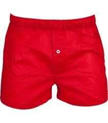 tommy hilfiger boxers wijd 2pak ruitje - rood