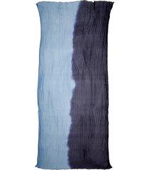 women's max mara beira bicolor silk scarf