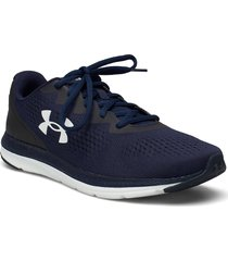 ua charged impulse 2 shoes sport shoes running shoes blå under armour