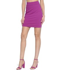 susana monaco straight stretch knit skirt, size x-small in ultra violet at nordstrom