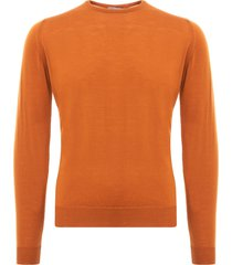 john smedley lundy sweater - bronze lundy-brb