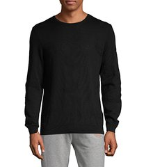 pontes slim-fit wool-blend sweater