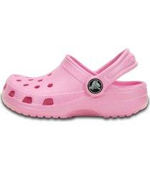 crocs crocs classic clog  rosa - kanui