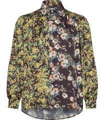 lush shirt blouse lange mouwen multi/patroon hope
