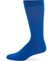 pindot crew socks