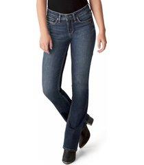 women's silver jeans co. suki slim fit bootcut jeans, size 2731 - blue